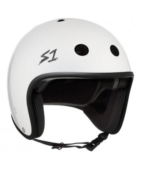 Casco S1 Retro Lifer White Gloss