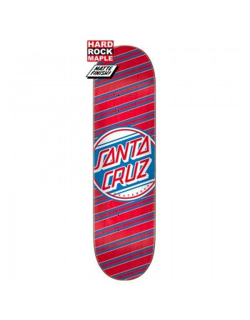 """Skateboard Santa Cruz Street Dot Hard Rock Maple 8,25"""" (Solo Tabla)"""