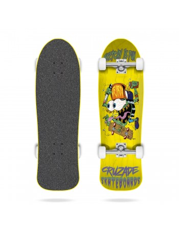 "Skateboard Cruzade Sketchy is Fun 9"" (Completo)"