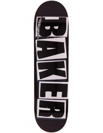 """Skateboard Baker Brand Logo Black 8,25"""""""