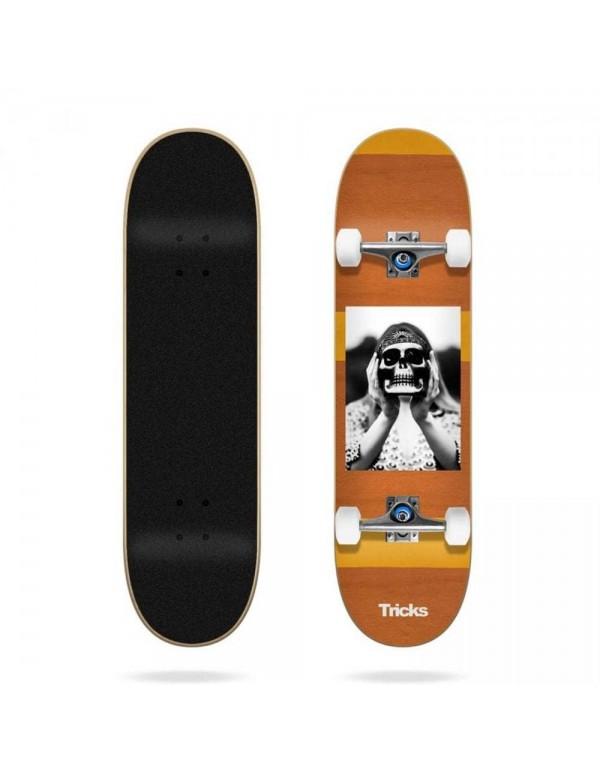 "Skateboard Tricks Hippie 8"" (Completo)"