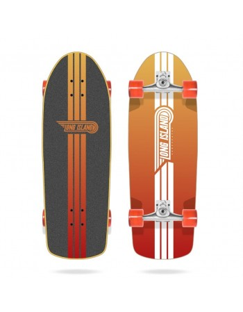 "Surfskate Long Island Surf Sunset 29,8"" (Completo)"