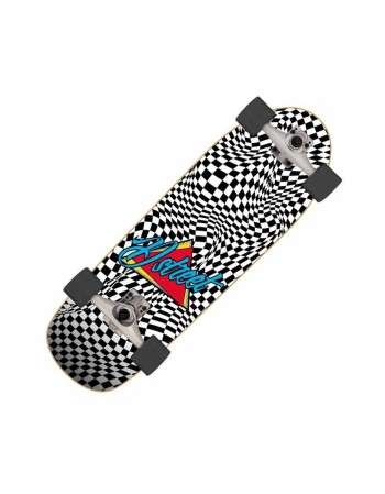 "Surfskate D Street Check Warp 32"" (Completo)"