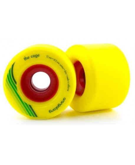 Ruedas Longboard Orangatang The Cage 73mm 86a