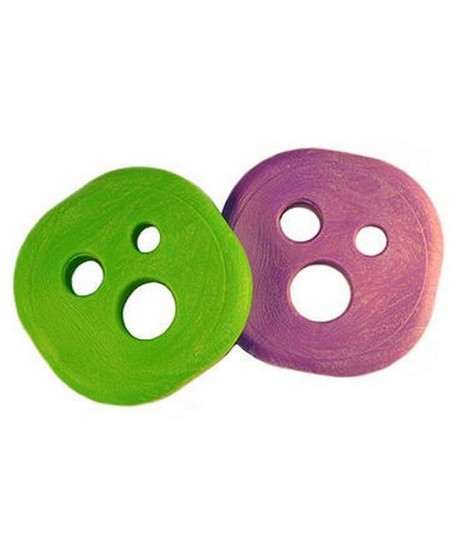 Holesom SlidePucks Neon Lime & Purple