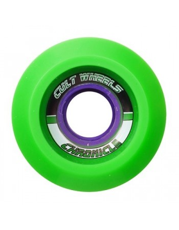 Ruedas Longboard Cult Chronicle 65mm Green (Stoneground)