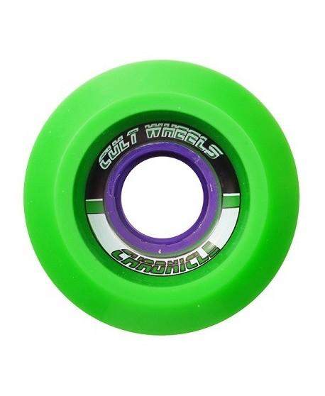 Ruedas Longboard Cult Chronicle 65mm Green (Stoneground)