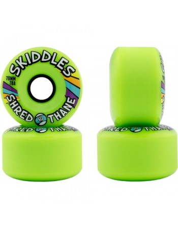 Sector 9 Ruedas Longboard Skiddles 70mm Green (set 4)