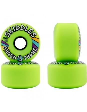 Sector 9 Ruedas Longboard Skiddles 70mm Green (set 4)