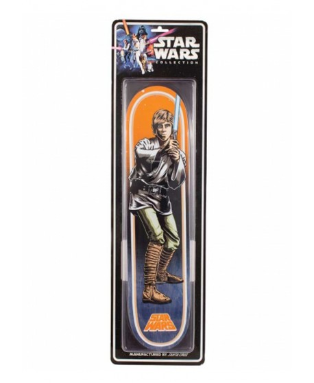 Skateboard Santa Cruz Star Wars Luke Skywalker tabla de colección 7.8 X 31.7