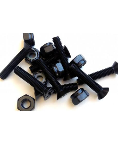 "Countersink Screw 1-3/4"" (4,4cm) + nut (Set 8)"