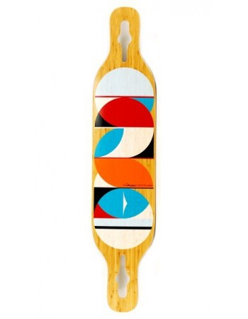 Longboard Loaded Longboard Dervish Sama Circles FLEX 1 (solo tabla)