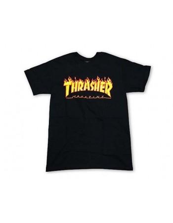Camiseta Thrasher Flame Logo Tee