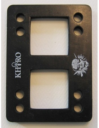 "Khiro Flat shock pad 0.032"" (0.81mm) soft (small, pack 2)"