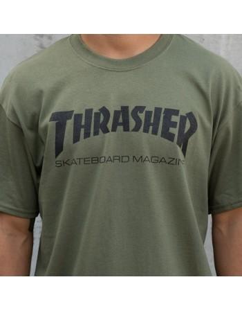 Camiseta Dark Heather Flame Logo