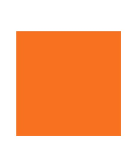 """Lija 11"""" (28 cm) x 10 cm Normal Naranja Fluorescente"""
