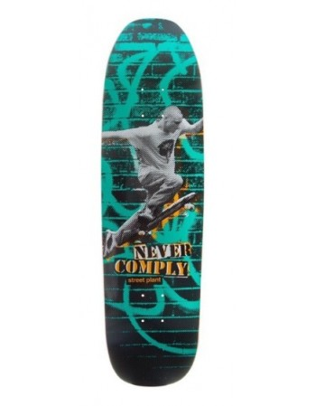"Skateboard Street Plant Never Comply 8.5""x32"" ( solo tabla )"