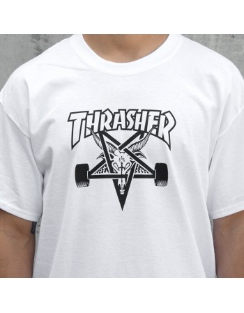Camiseta Thrasher Neck Face Verde