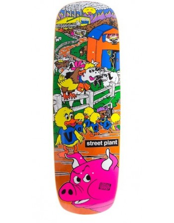 "Skateboard Street Plant Barnyard 9.5""x31"" ( solo tabla )"