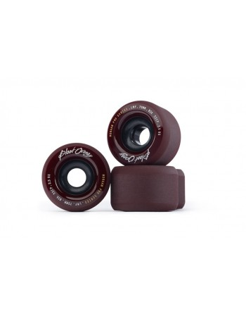 Ruedas Longboard Blood Orange Morgan Midnight  Maroón 82a 65mm