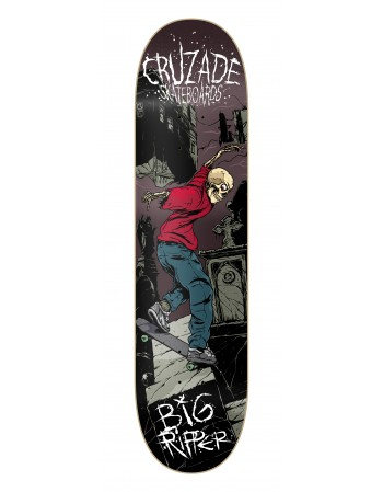 Cruzade Skateboard BIG RIPPER 8.25 (solo tabla)