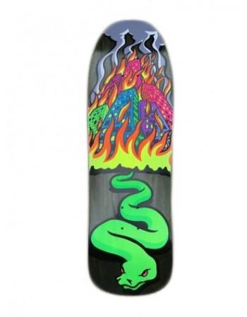 Skateboard Street Plant Vallely Snake