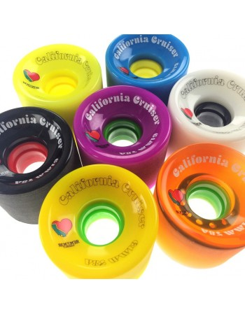 Ruedas Longboard Remember California Cruisers 61mm (set 4)
