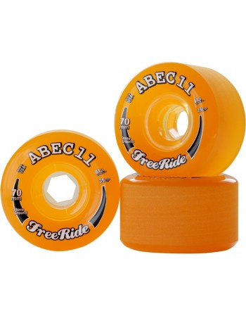 Ruedas Longboard Abec11 Freeride 70mm 81a (Set 4)