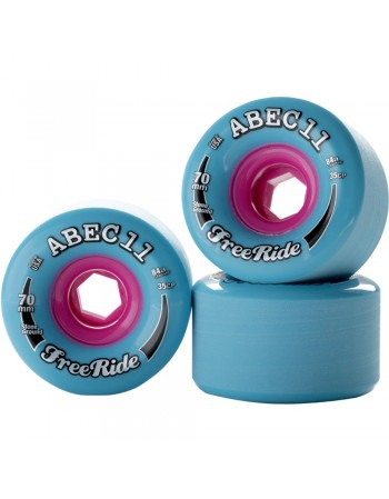 Ruedas Longboard Abec 11 Freeride 70mm 78a (Set 4)