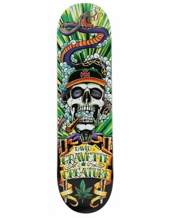 "Skateboard Creature Graham Orc 1 32.57"" x 8.8"" (solo tabla)"