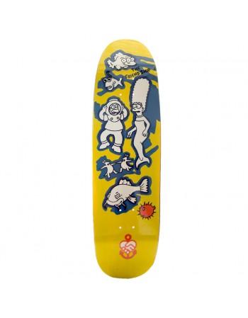 "Skate The Friend Ship D'OH Jeez Gonz 8.75"" (Completo)"