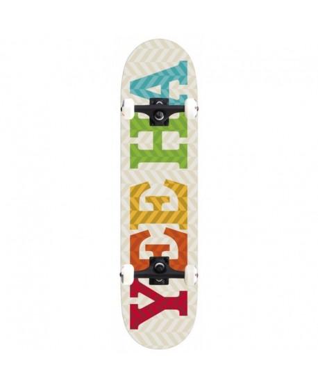 """Skateboard Ye haa Website 8"""" x 32"""" Completo"""