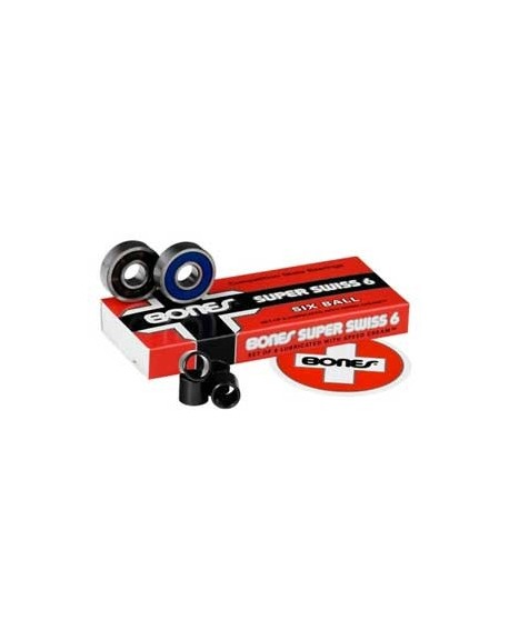 Bearings Bones Super Swiss 6 balls