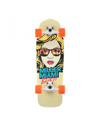 "Surfskate Miller Miami Beach 31"" Completo"