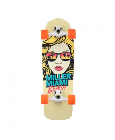 "Surfskate Miller Miami Beach 31"" Completo"