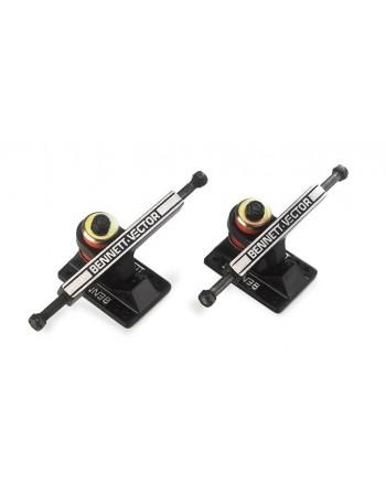 Ejes Skatebard Bennet Truck 6.0 Black (Unidad)