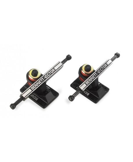 Eje Skateboard Bennett Truck 4.3  Black (Unit)