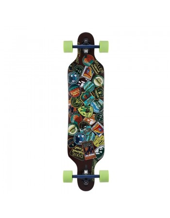 "Longboard Miller National Park Stickers 38,2"" Completo"