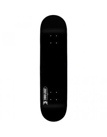 """Skateboard MiniLogo Quartermaster 127 Black 8""""x32.125"""" (solo tabla)"""