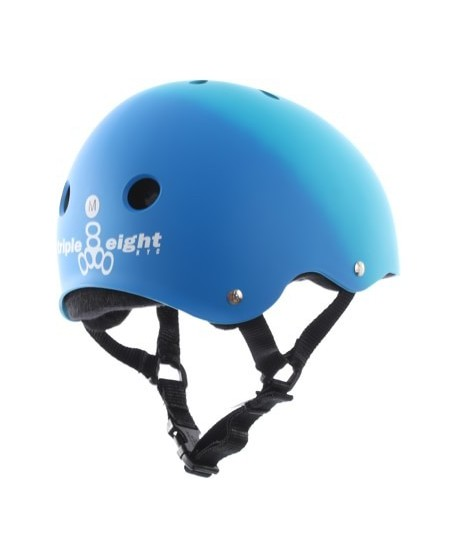 Casco Triple Eight Brainsaver Blue Fade Rubber