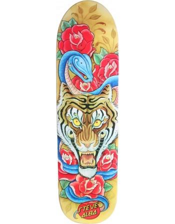 """Skateboard Santa Cruz Salba Tiger Flash Pro 8,9"""" (Solo Tabla)"""