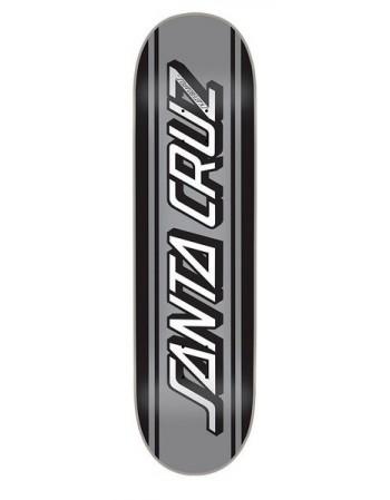 "Skateboard Santa Cruz Silver Classic Strip 8.6"" (Solo Tabla)"