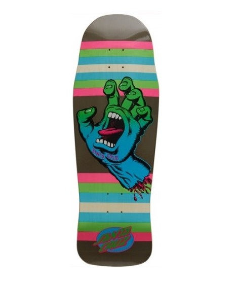 "Skateboard Santa Cruz Screaming Hand Neon Age 10"" (Solo Tabla)"