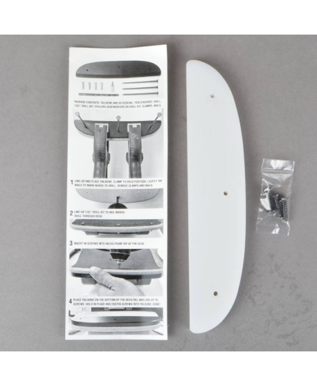 "Powell Peralta Tailbone 8"" Re-Issue White"