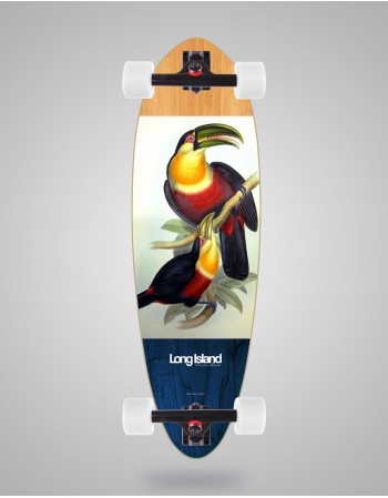 "Longboard Long Island Parrot 33"" Mini Pintail  (completo)"