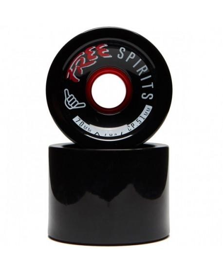 Ruedas Longboard Free Wheels Free Spirit (set 4)