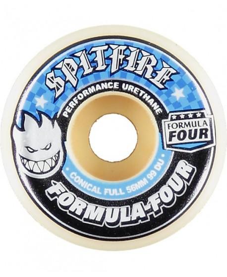 Ruedas Skateboard Spitfire F4 Conical Full 58mm