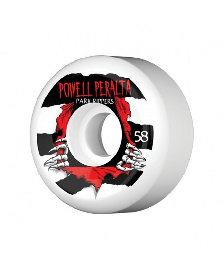 Ruedas Skateboard Powell Peralta Park Ripper SPF 58mm  (Set 4)