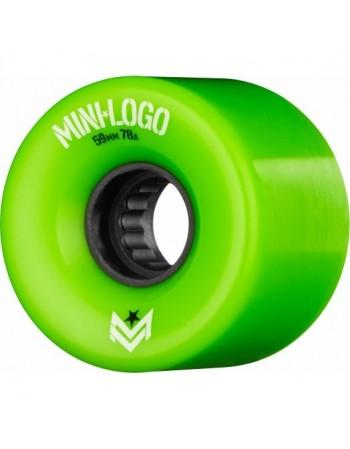 Mini Logo ASOL A CUT 59mm 78a Verdes (set 4)