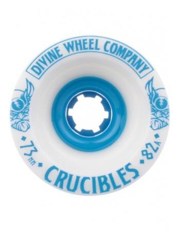 Rueda Longboard Divine Crucibles 73mm 82a  ( set 4 )